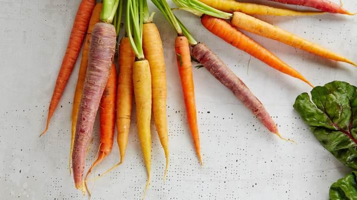 Heritage carrots. Unsplash image.