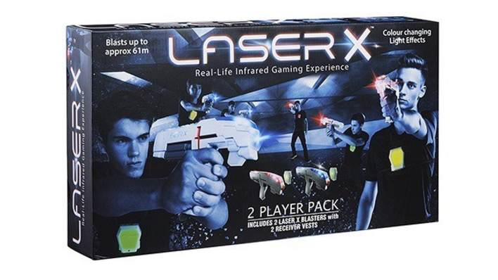 Lazer X Twin Pack