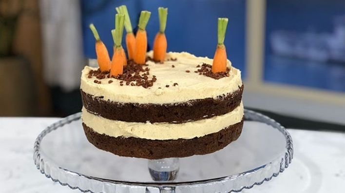 Juliet Sears Carrot Patch Easter Sponge This Morning