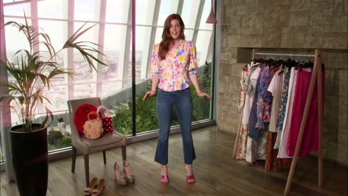 This Morning Loves Holiday Must-Haves Jeans and Floral Blouse