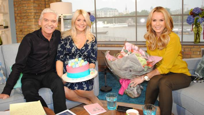Holly Willoughby Phillip Schofield Amanda Holden