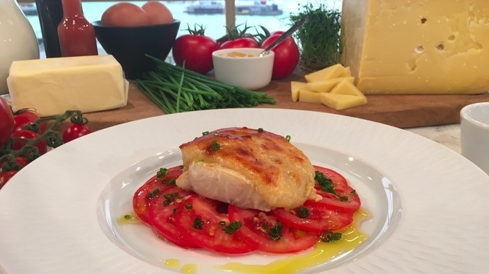 James Martin's poached haddock with Welsh rarebit | This ...