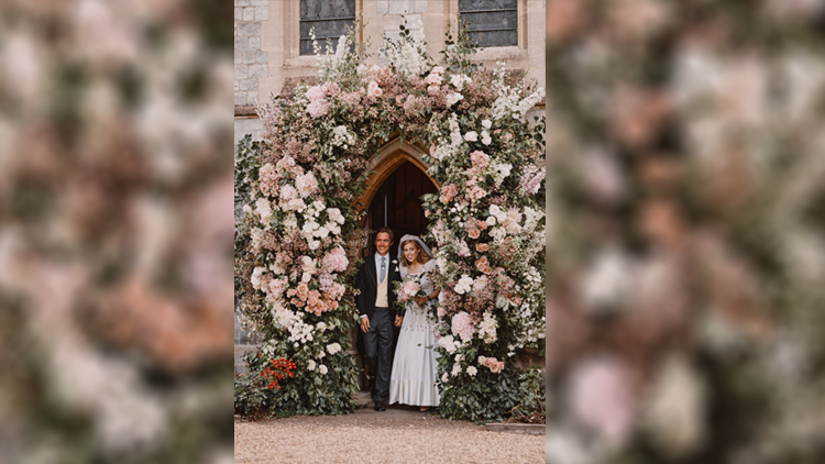 Inside Princess Beatrice S Secret Wedding This Morning