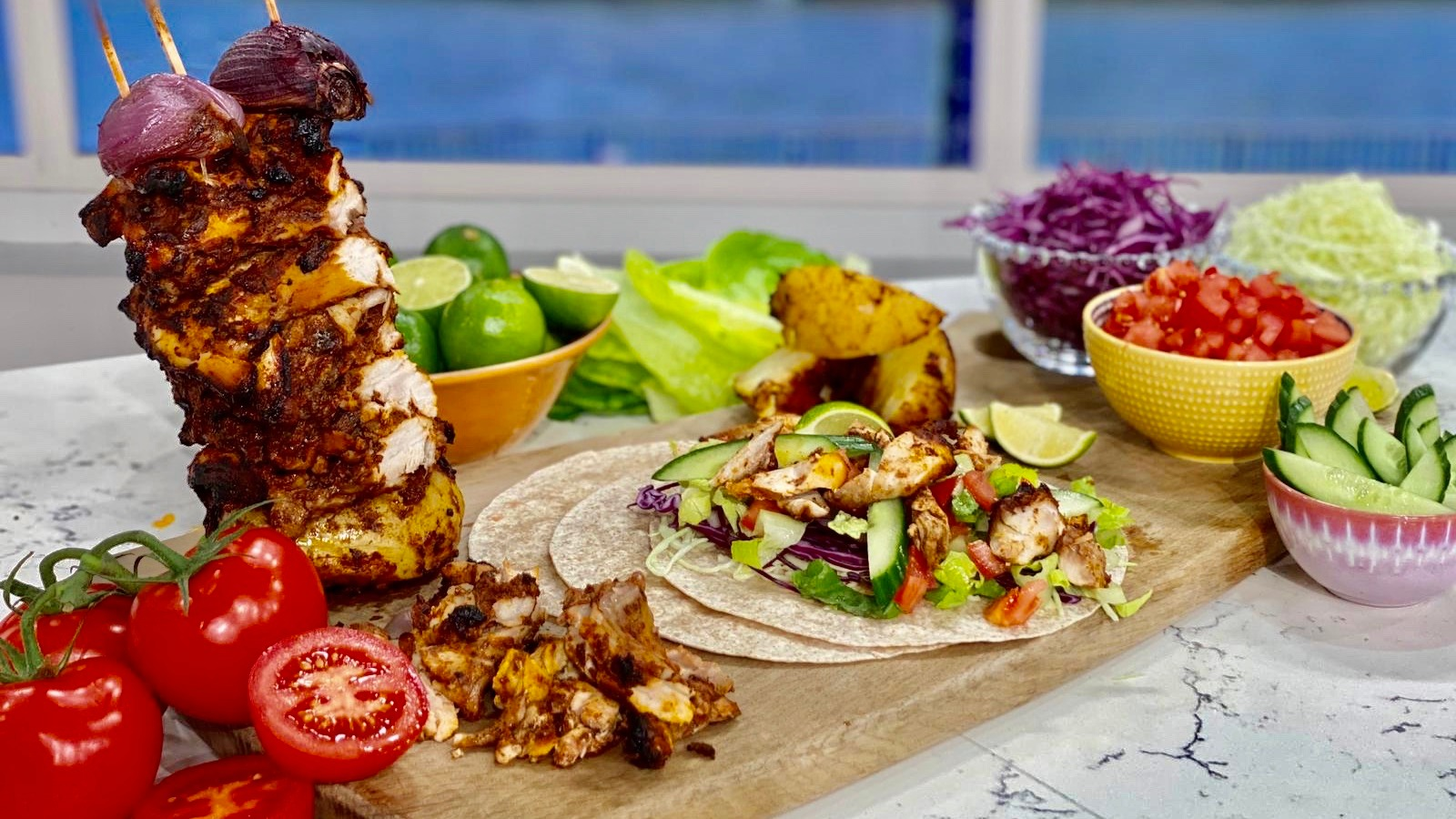 Alison's chicken kebabs | This Morning