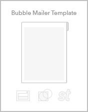 Bubble mailer templates