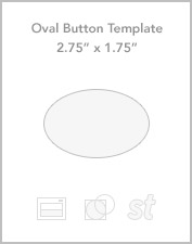 "2.75"" x 1.75"" Oval button templates"