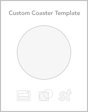 Custom coaster templates