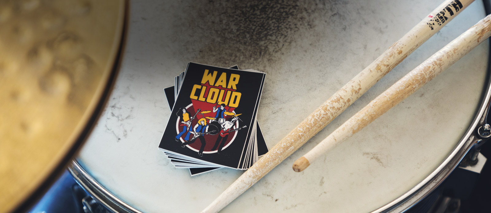 Band stickers by Sticker Mule