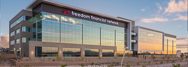 Freedom Financial Network Donates Over 8,000 Pounds of Food to Oasis Food Bank, Salvation Army and St. Vincent de Paul