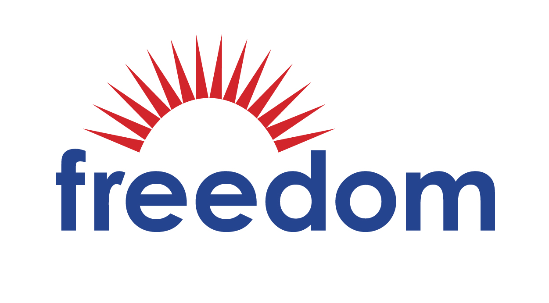 Freedom Financial Network Logo white background