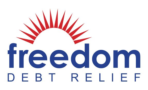 Freedom Debt Relief Logo background