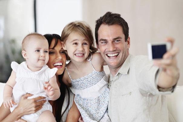 family-baby-photo