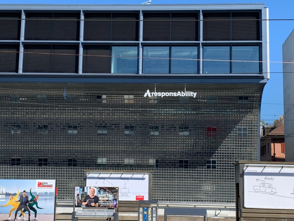 responsAbility Investments headquarters at Track 18, Zurich main train station