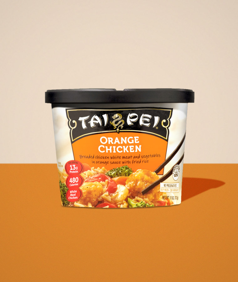 Orange Chicken Packaging