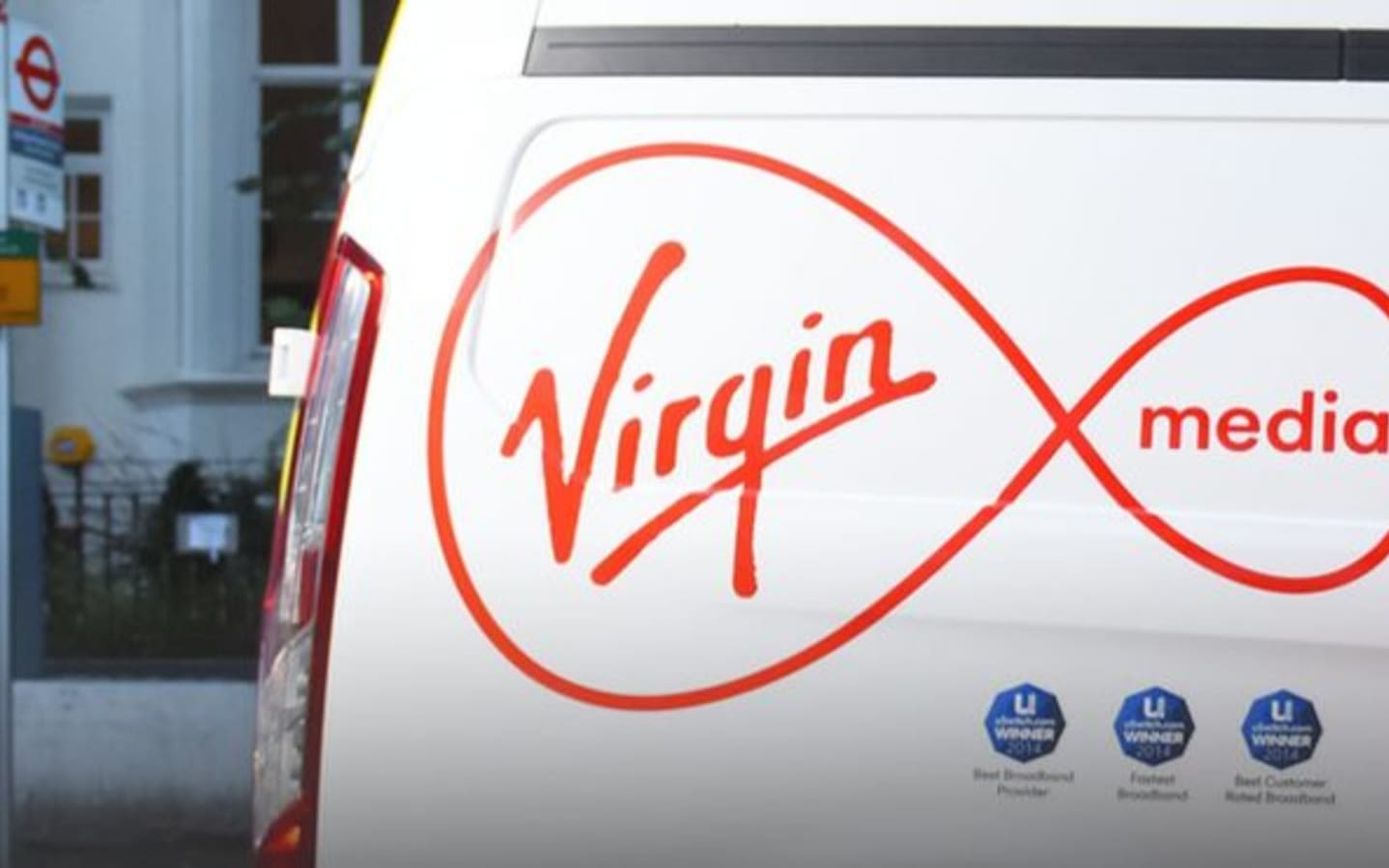 Virgin Media fleet vehicle
