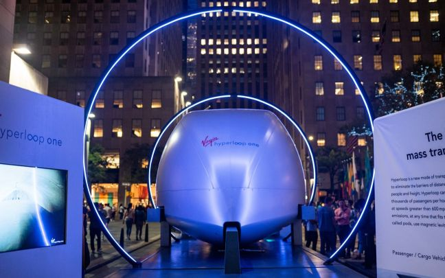 Hyperloop One in New York City