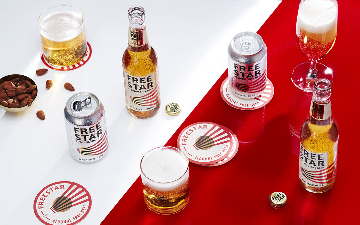 Freestar alcohol free beers