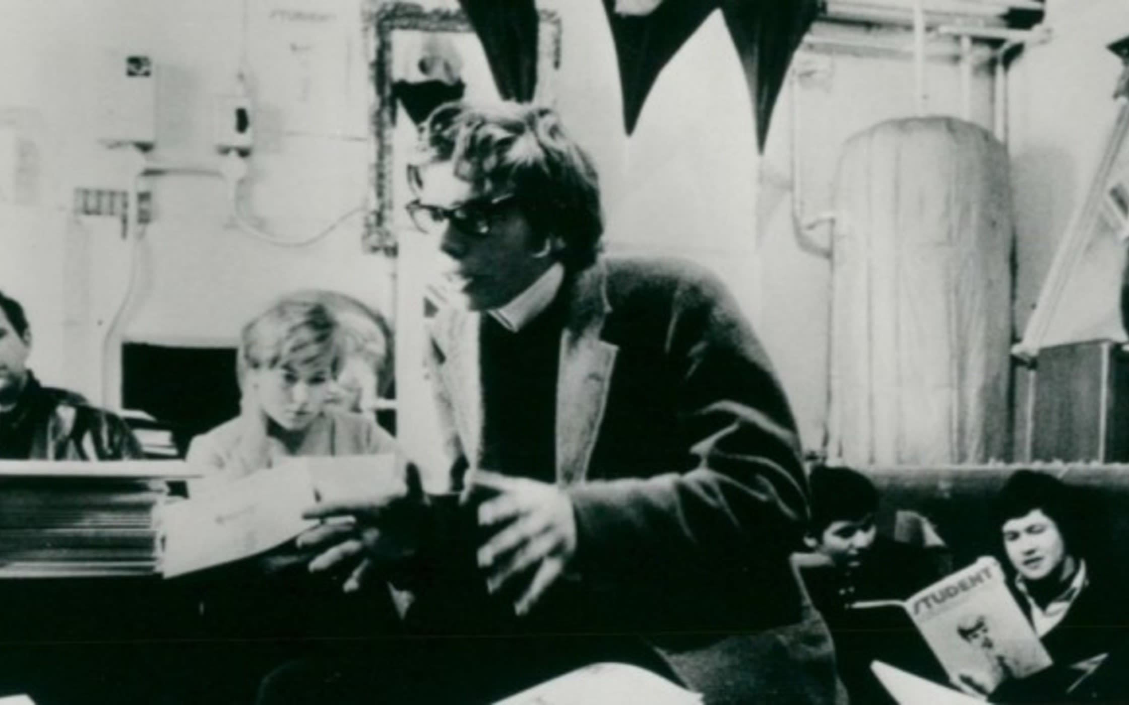 Richard Branson as a student