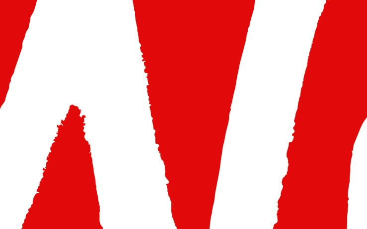 A section of the Virgin logo