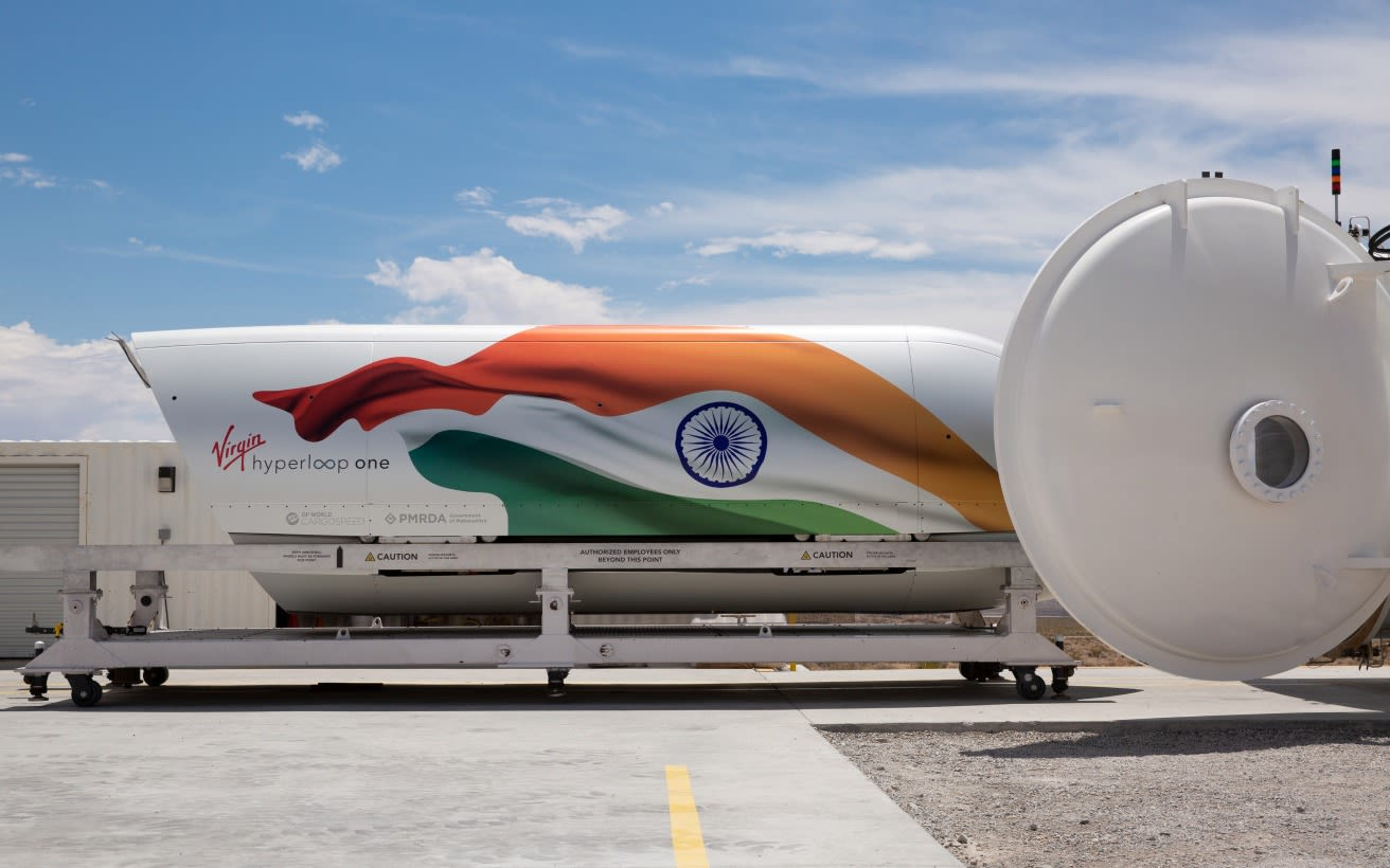 Virgin Hyperloop in India