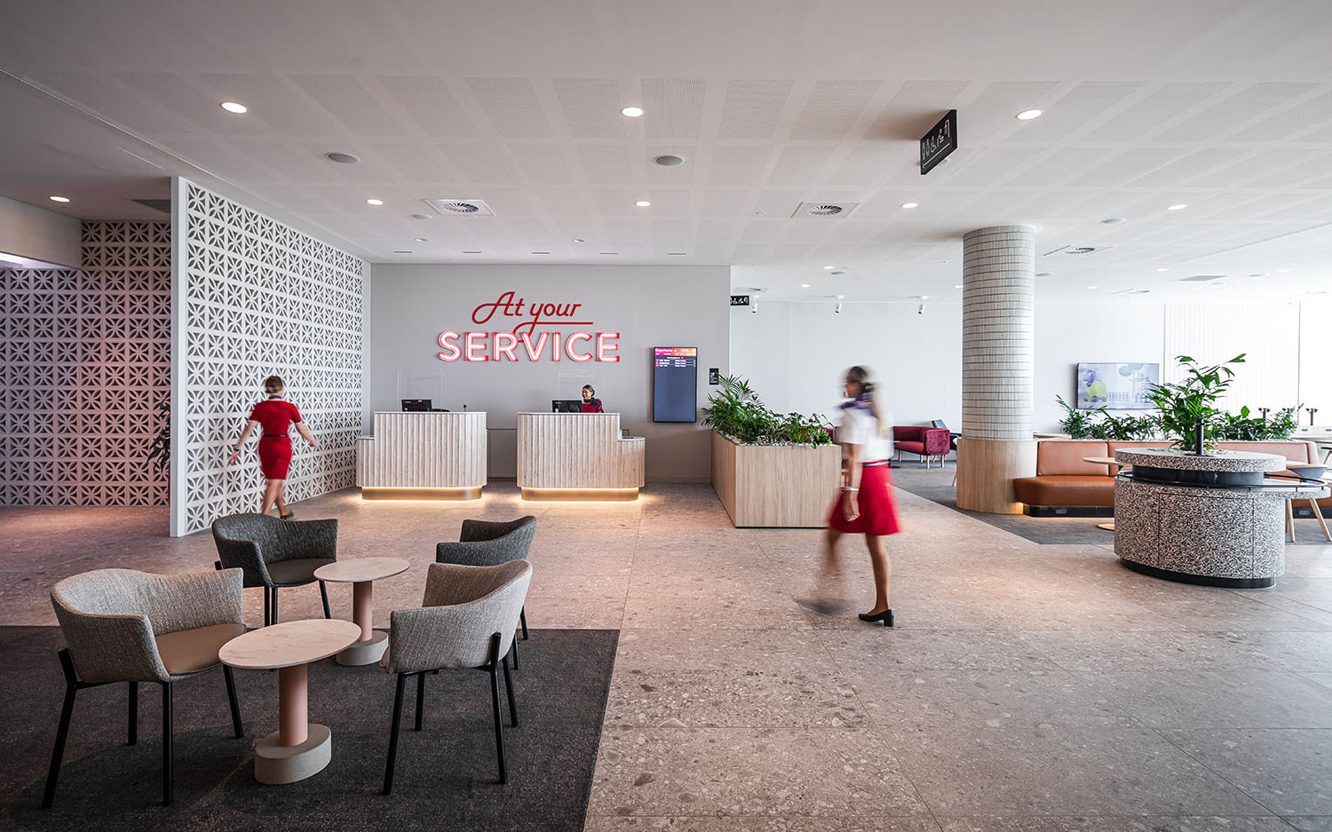 The Virgin Australia Adelaide Lounge