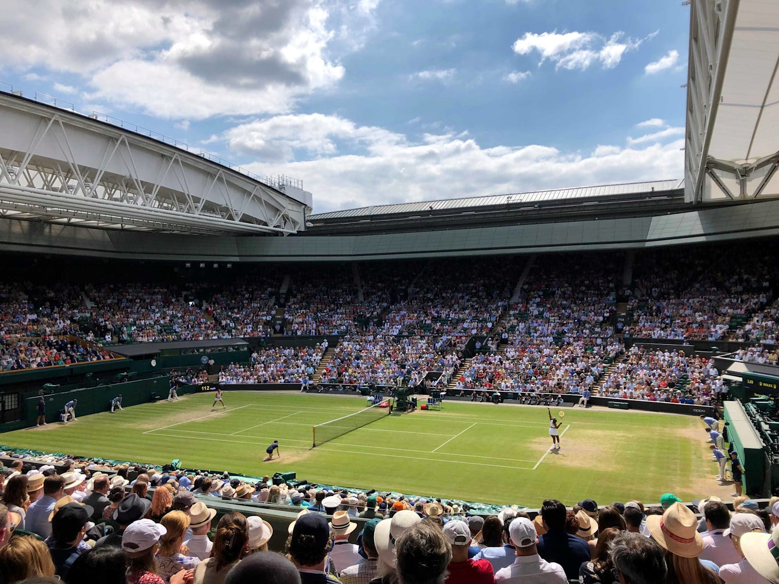 Picture of Centre Court at Wimbledon
