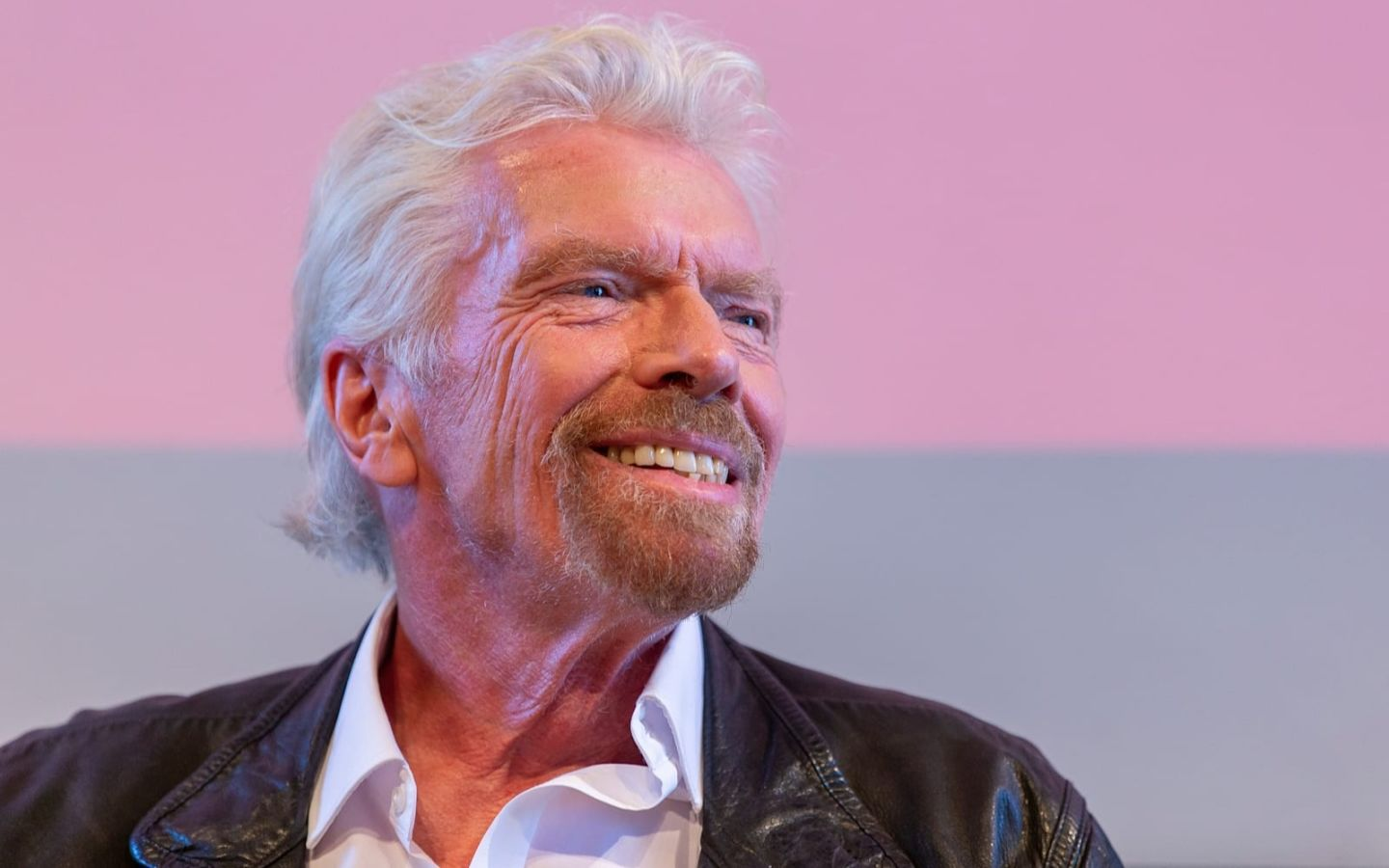 Richard Branson smiling