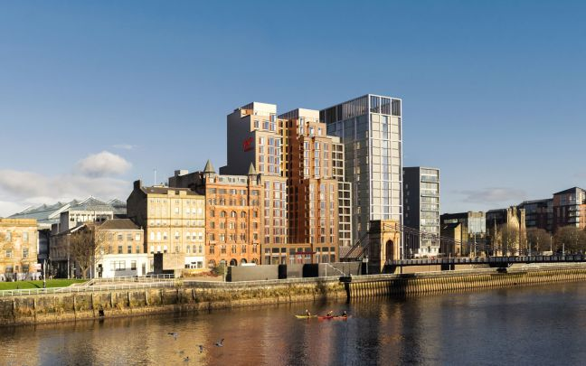 Rendering of Virgin Hotels Glasgow