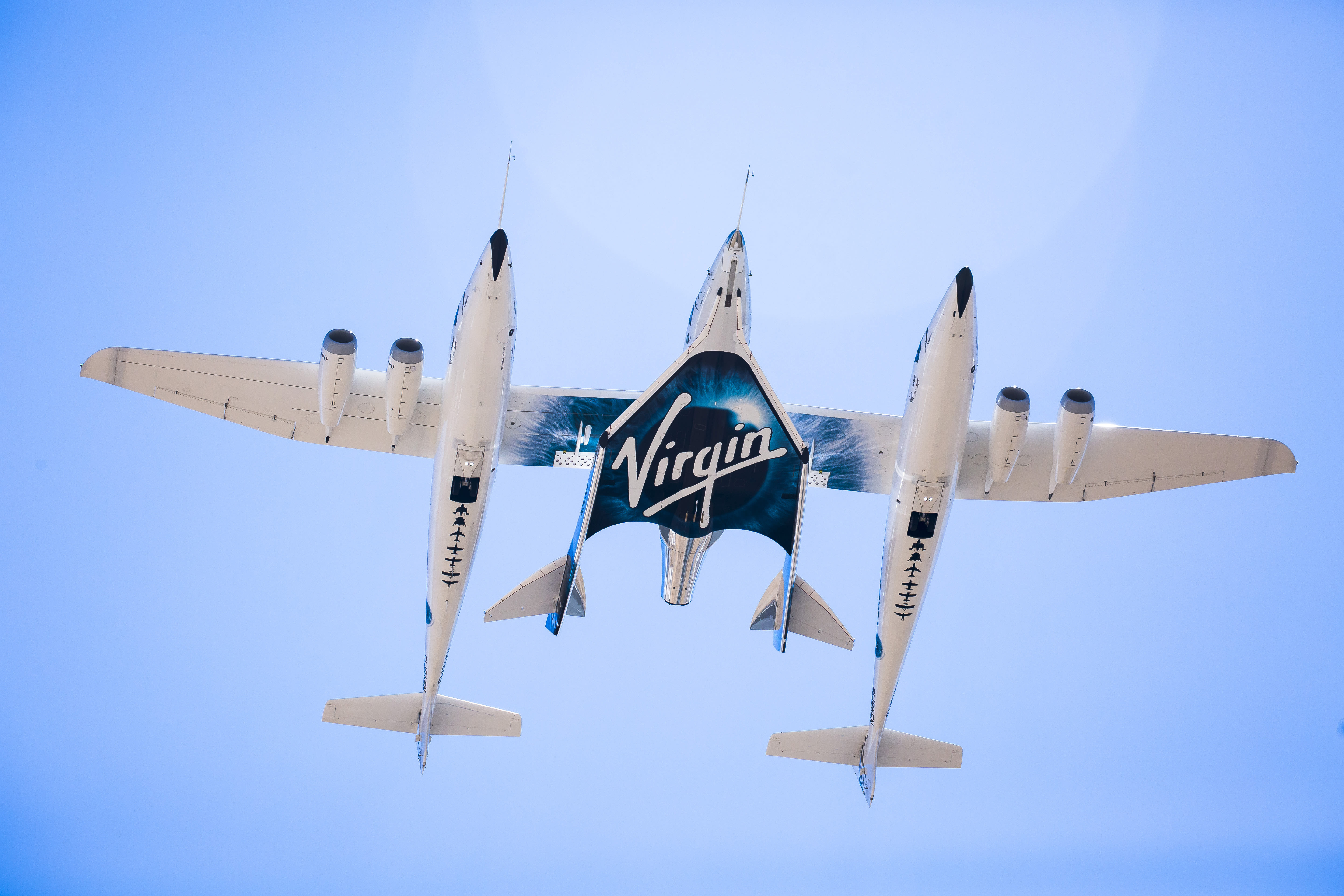 Virgin Galactic's VSS Unity and VMS Eve