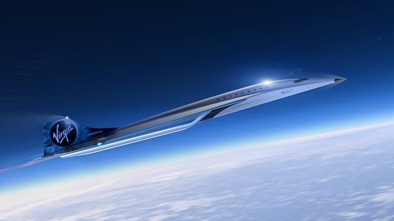 Virgin Galactic, which includes its manufacturer of advanced air and space vehicles, The Spaceship Company, has revealed the initial designs for its high speed vehicle
