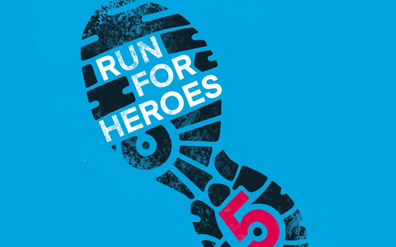 Run for Heroes Logo