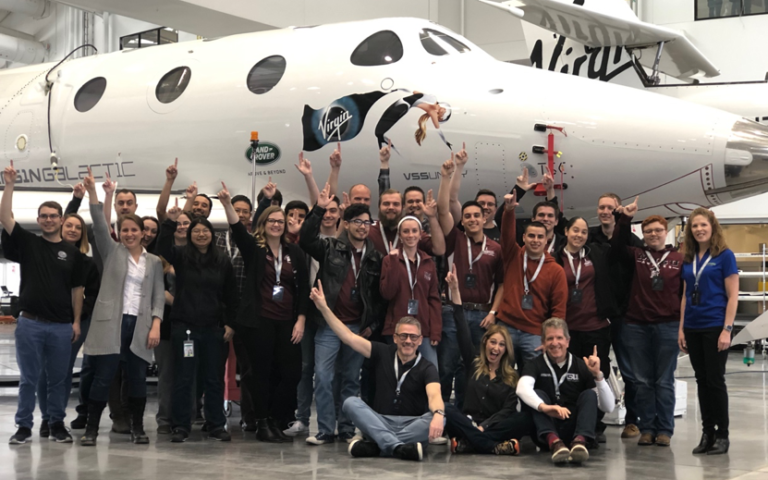 Students from NMSU visit Spaceport America in February 2020