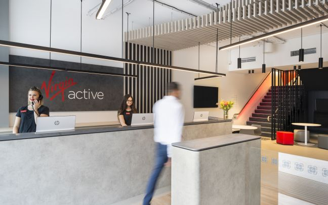 Virgin Active Australia Bondi health club reception