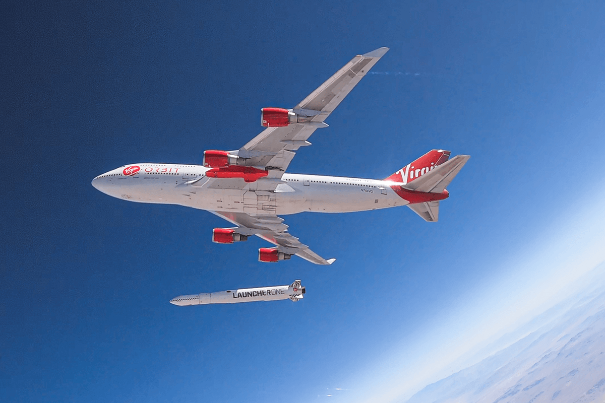 Virgin Orbit's Boeing 747 Cosmic Girl and LauncherOne rocket