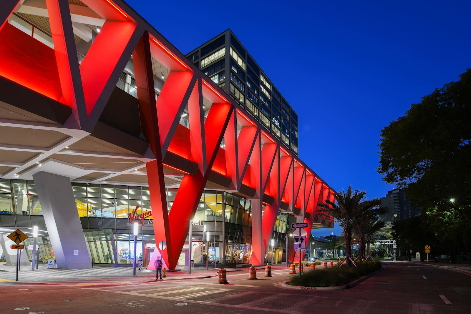 Virgin Miami Central station