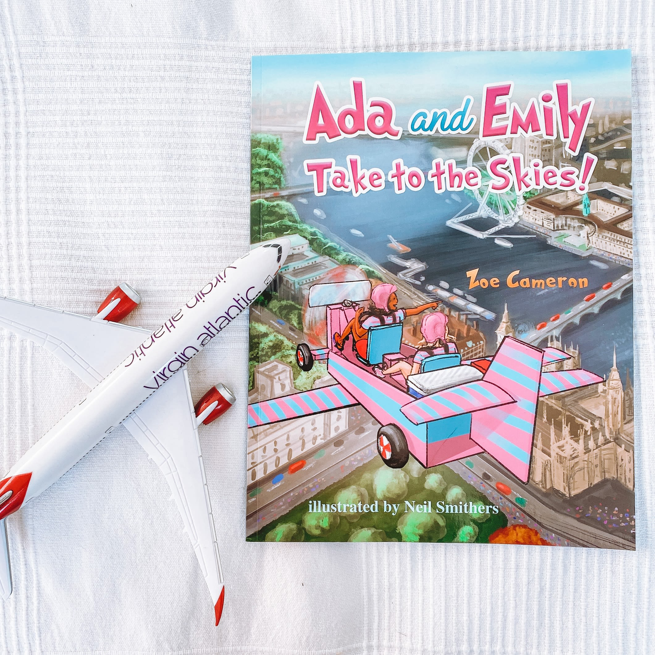 Ada and Emily Take to the Skies book cover