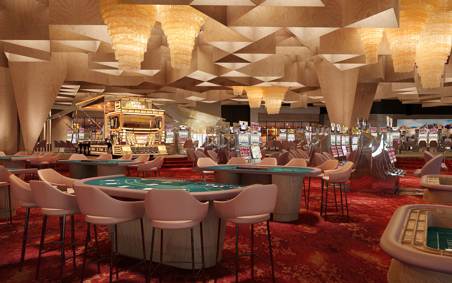Casino at Virgin Hotels Las Vegas