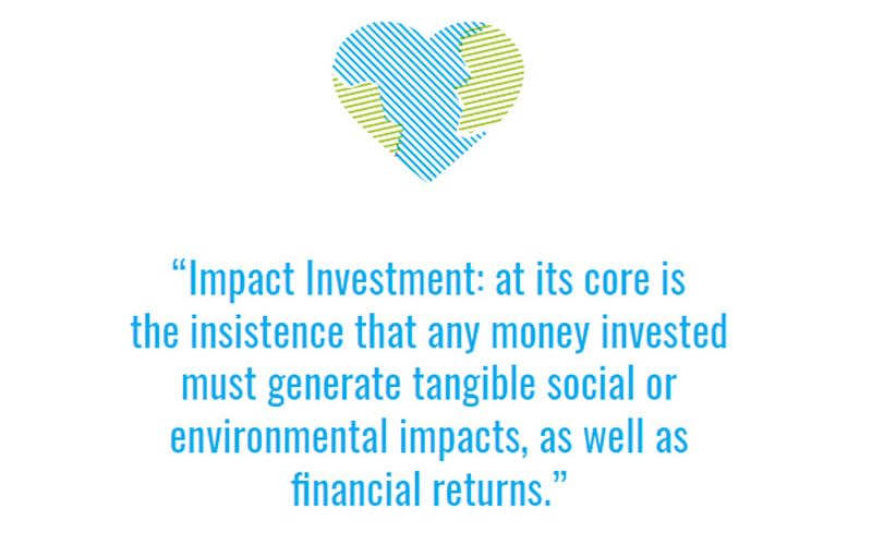 A quote about Impact Investment taken out of WEconomy - a book co-written by Holly Branson
