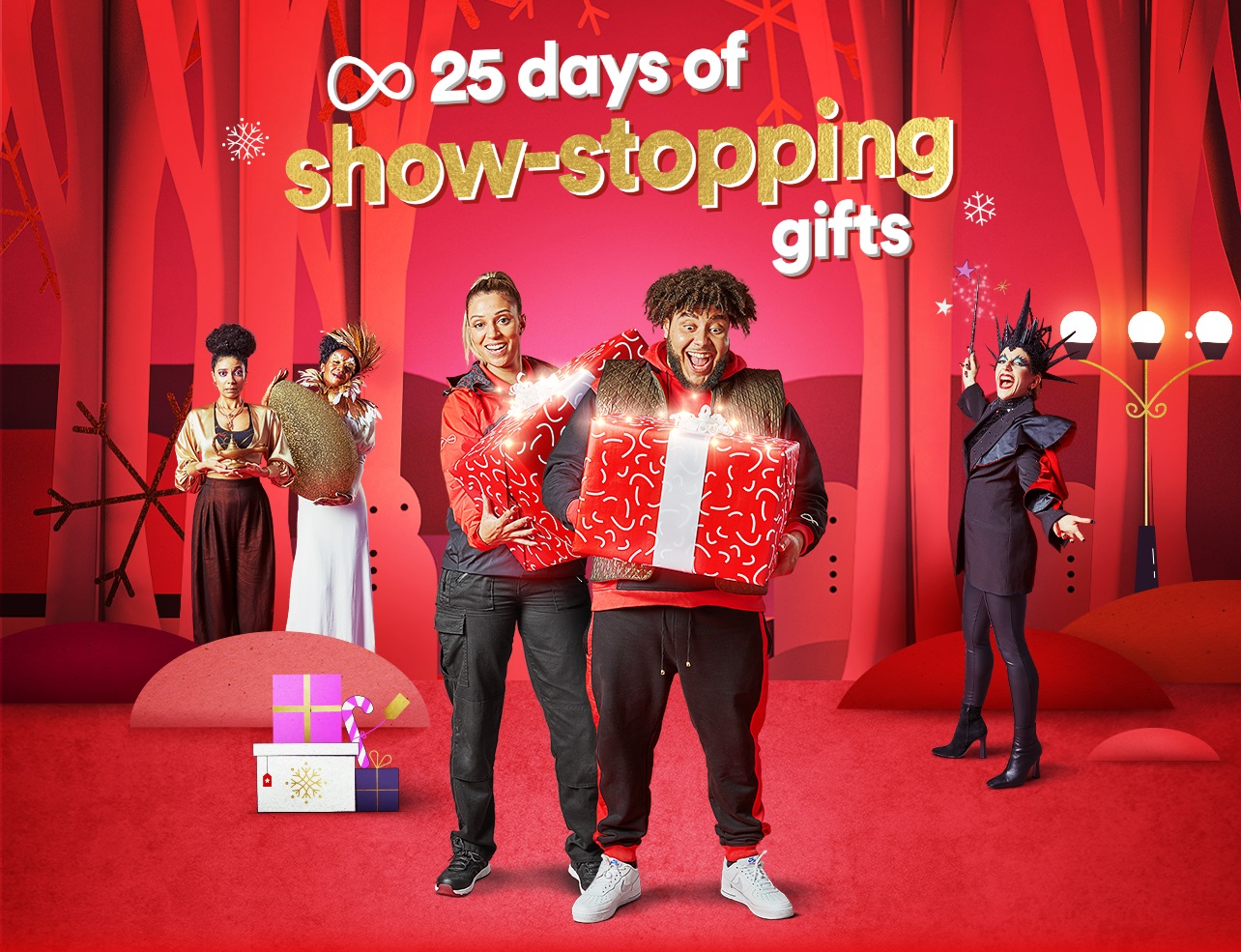 Virgin Media's 25 days of show-stopping gifts with Big Zuu and Lauren the engineer