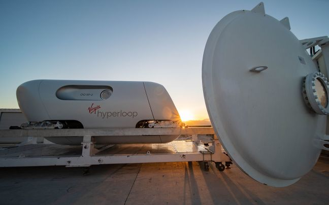 Virgin Hyperloop's XP-2 pod