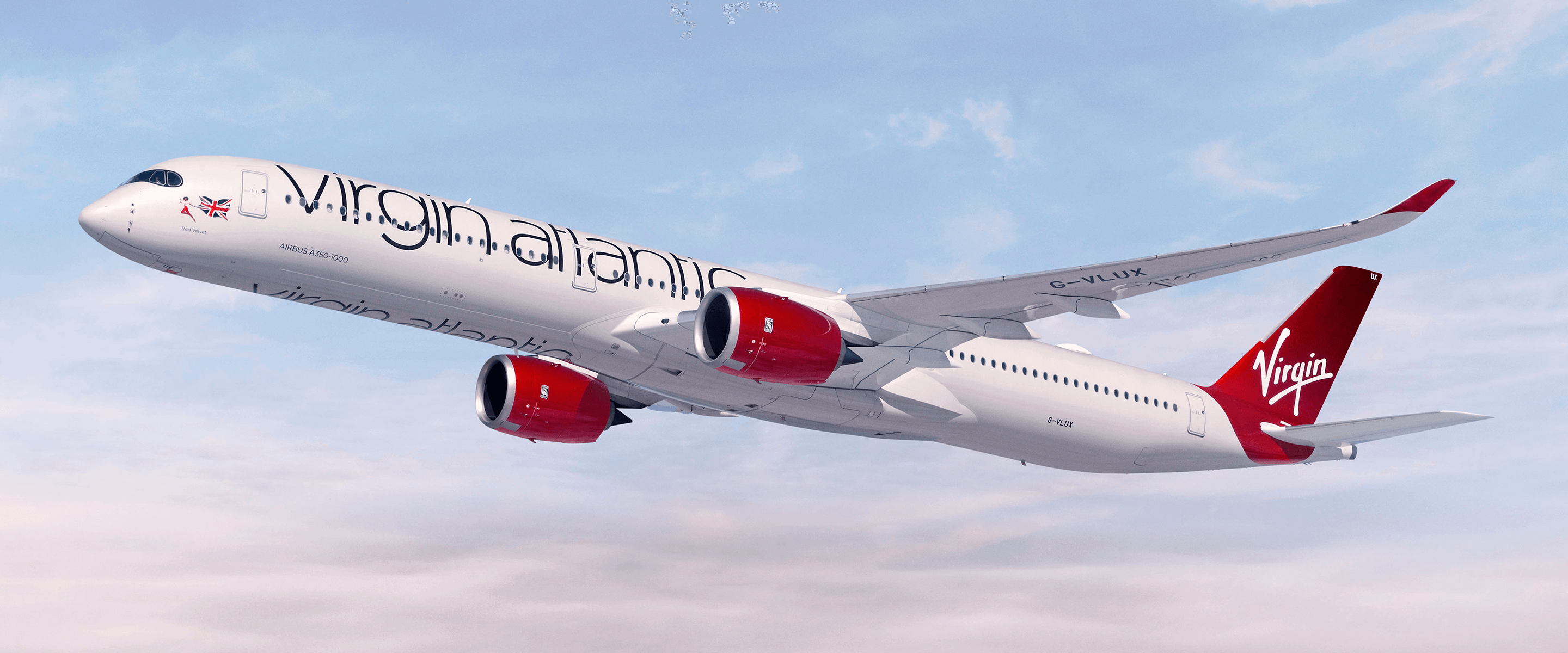 a Virgin Atlantic A350