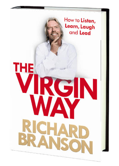 Photo of The Virgin Way book