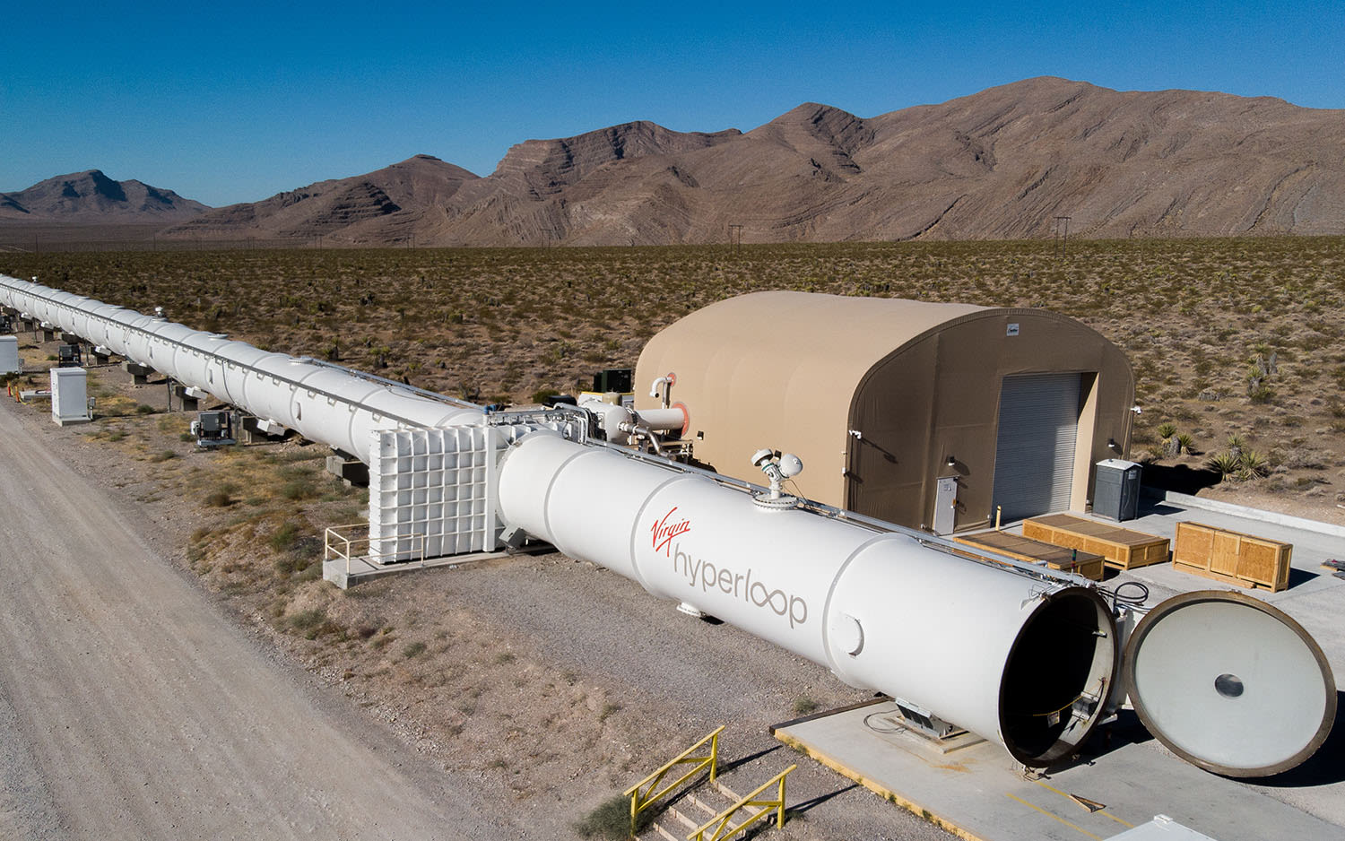 Virgin Hyperloop's DevLoop