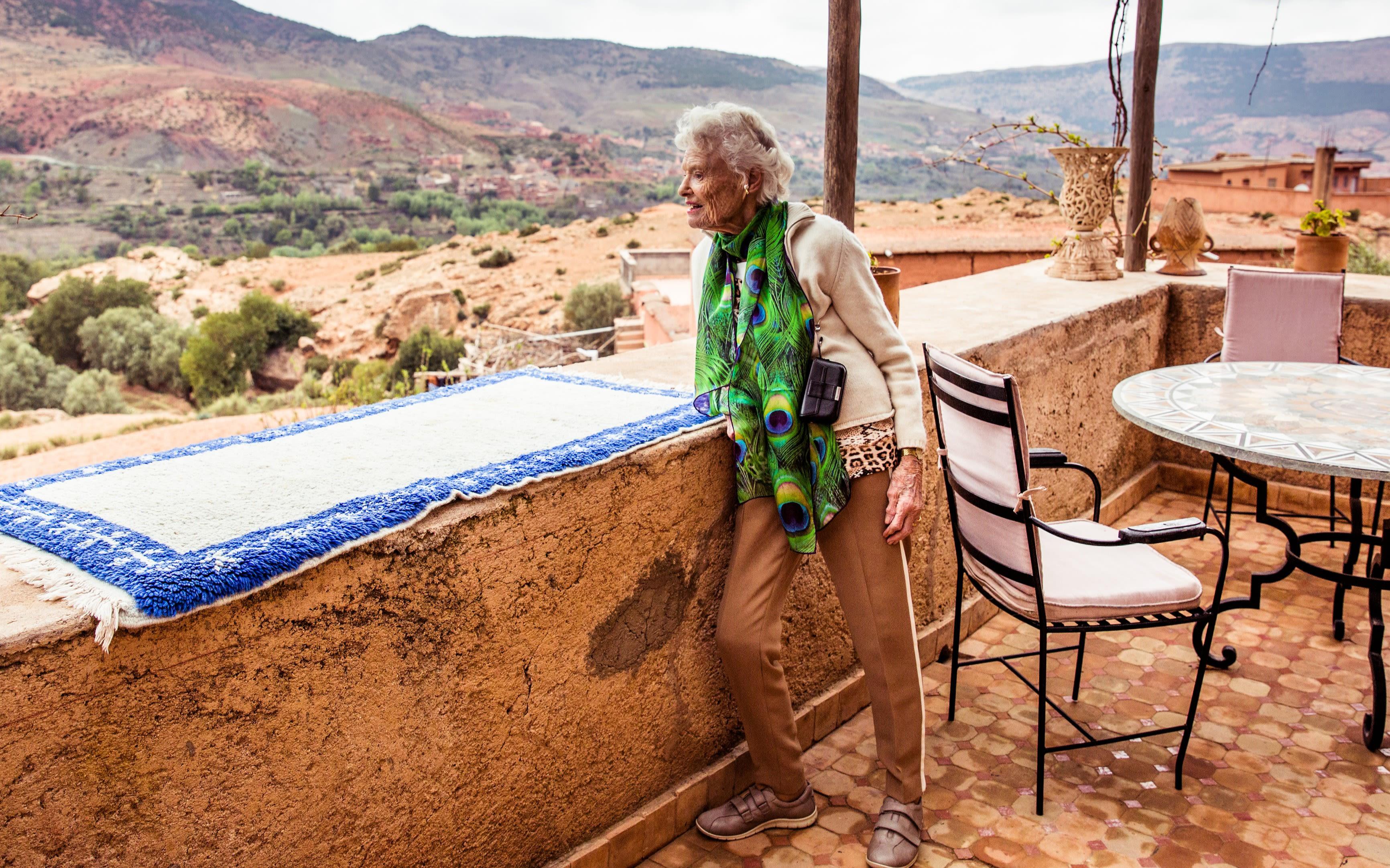 Eve Branson in Morocco