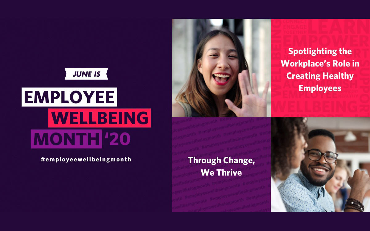 Virgin Pulse Employee Wellbeing Month 2020