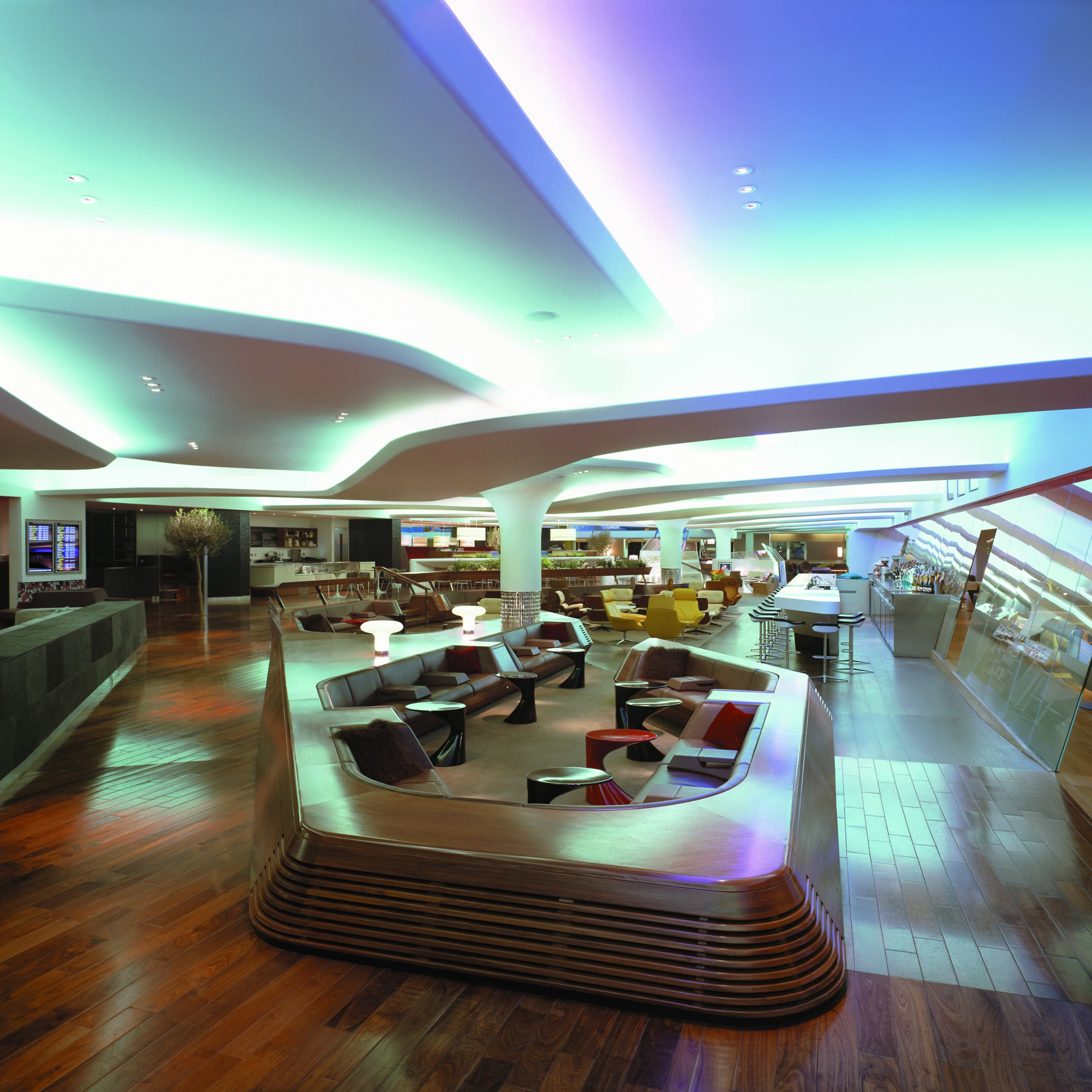 An image of Virgin Atlantic's first class lounge