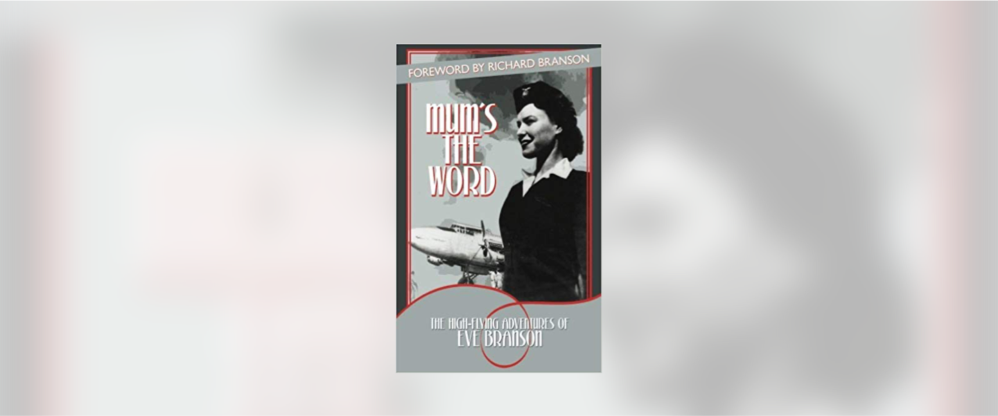 The cover of Eve Branson's book Mum's the Word