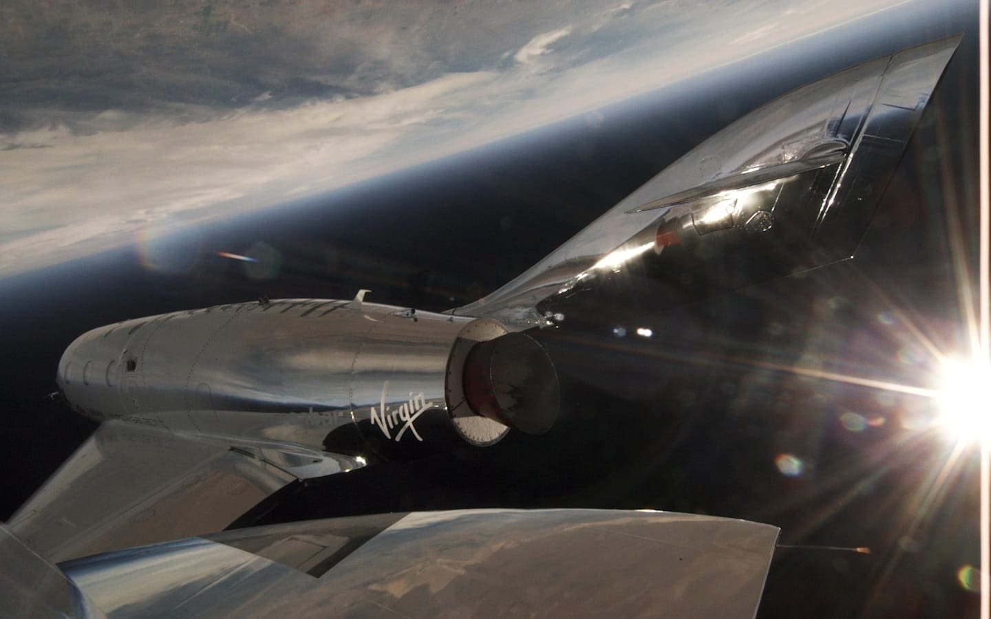 Virgin Galactic's first powered flight