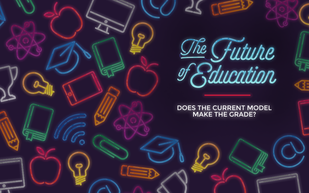 The future of education graphic