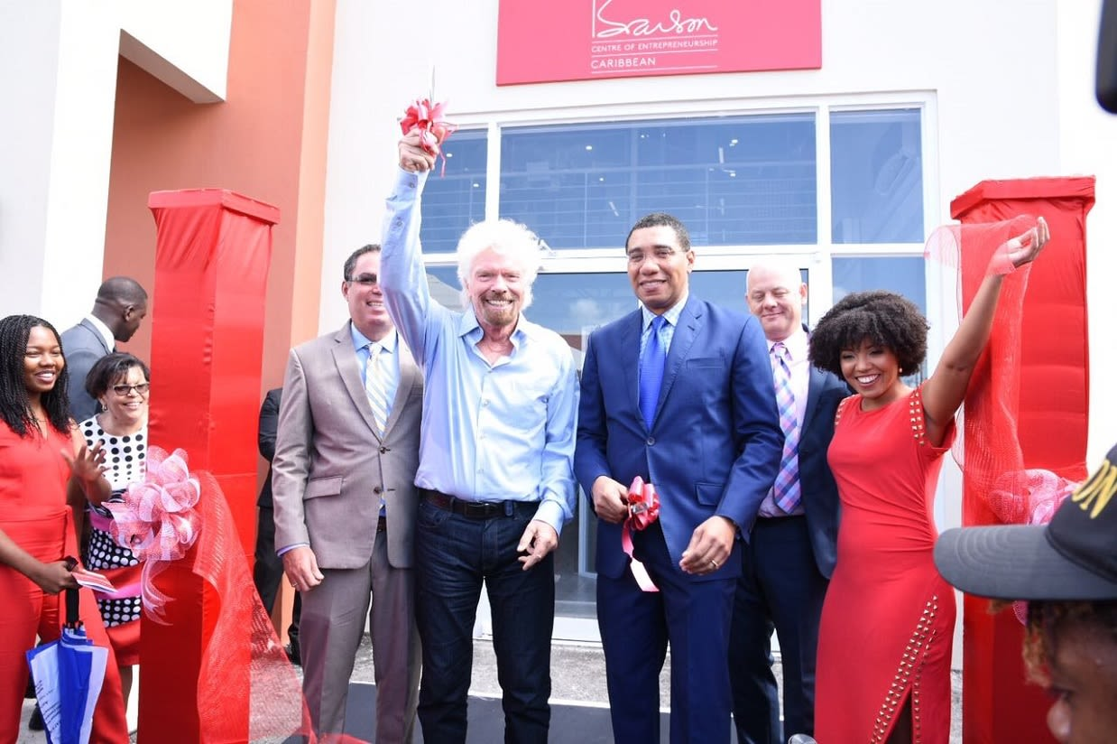The Branson Centre of Entrepreneurship relaunch in Kingston, Jamaica